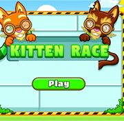 kitten race game